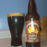 A 5.5% Stout from Penticton, British Columbia